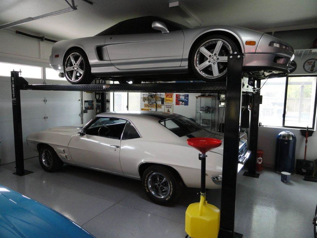 Garage Car Lift For Storage Direct Lift We Find Better Custom Garage Parking Storage