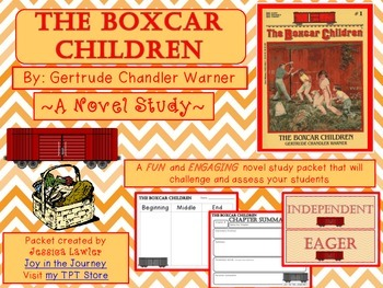 The Boxcar Children: Novel Study Packet | Literature, Classic ...