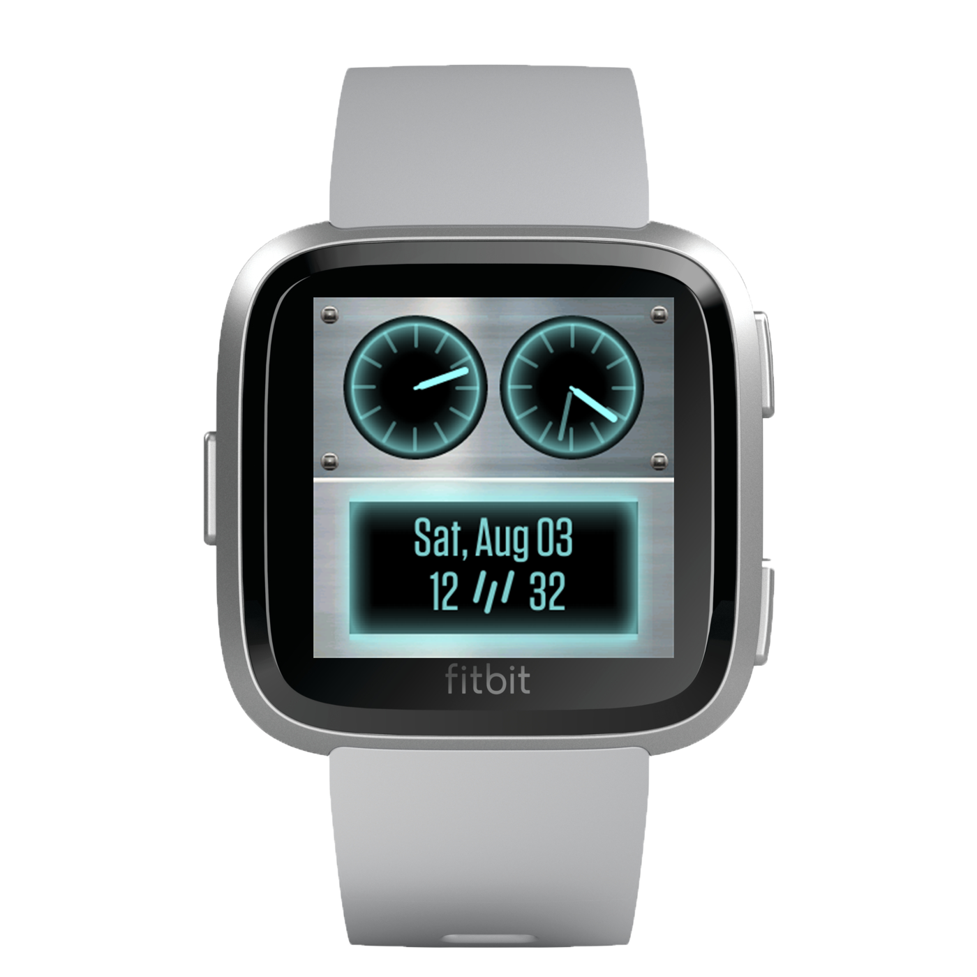 www.watchfacestore.com has amazing #fitbit #watchfaces. Get to know the Robot. The robot face shows...