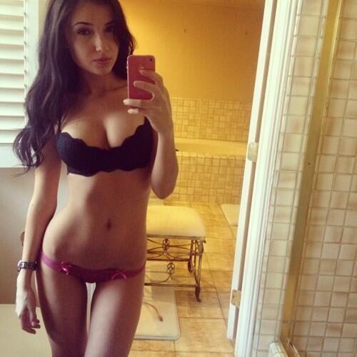 Hot girls on social media