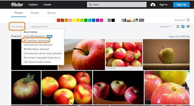 Játékos tanulás és kreativitás: Jogtiszta képek: Flickr