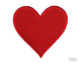Valentine Heart Collage Applique Machine Embroidery Design | Etsy