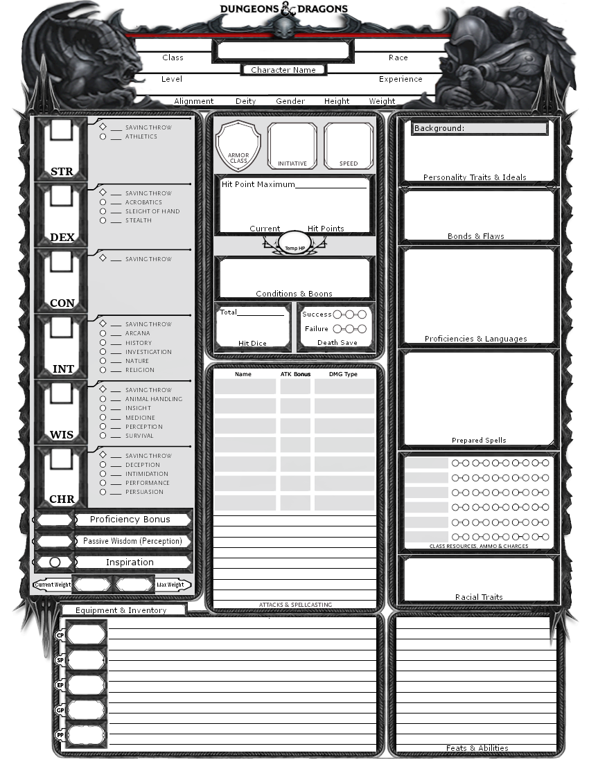 Exploring Character Design Pdf : Tb cva � rpg character sheet pinterest