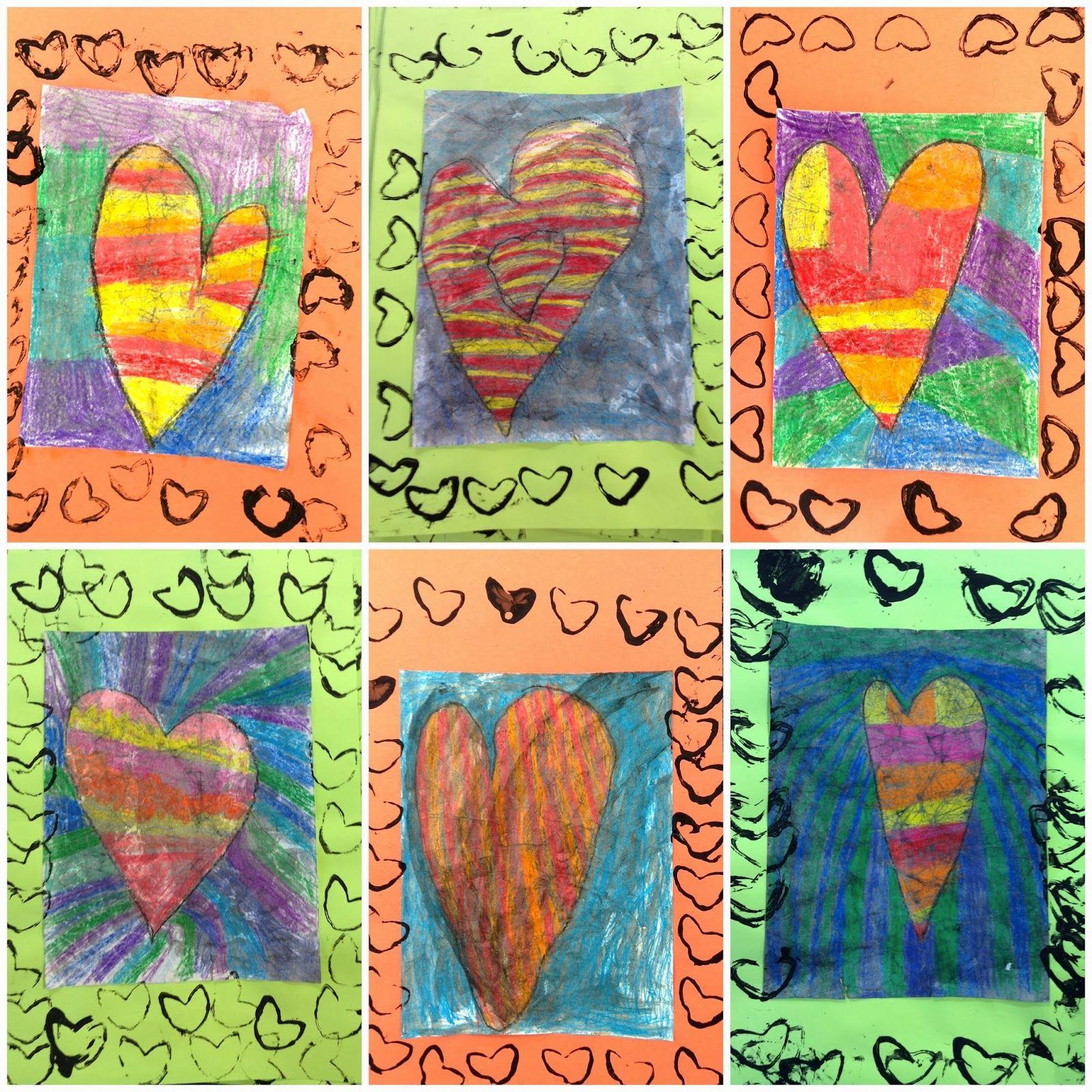 Exploring Art: Elementary Art: Kindergarten Warm/Cool Colors Jim ...