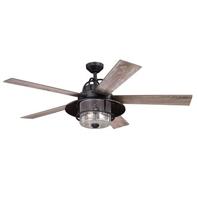Cascadia Lighting Ceiling Fan F0044 Charleston 56-in ... on Cascadia Outdoor Living Spaces id=79548