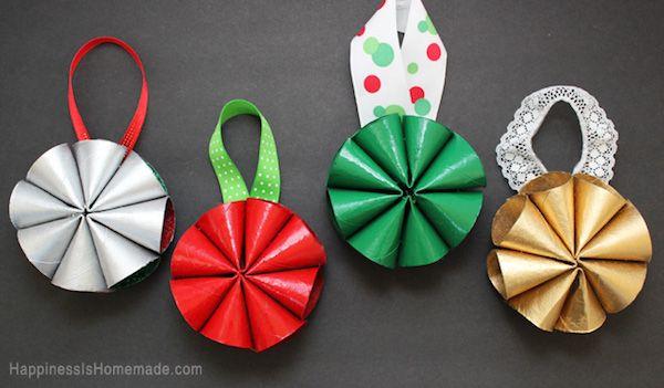 Manualidades de Navidad con rollos de papel Winter season and Craft
