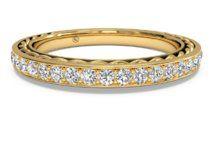 Women's Micropavé Diamond Braided Wedding Band – 22830