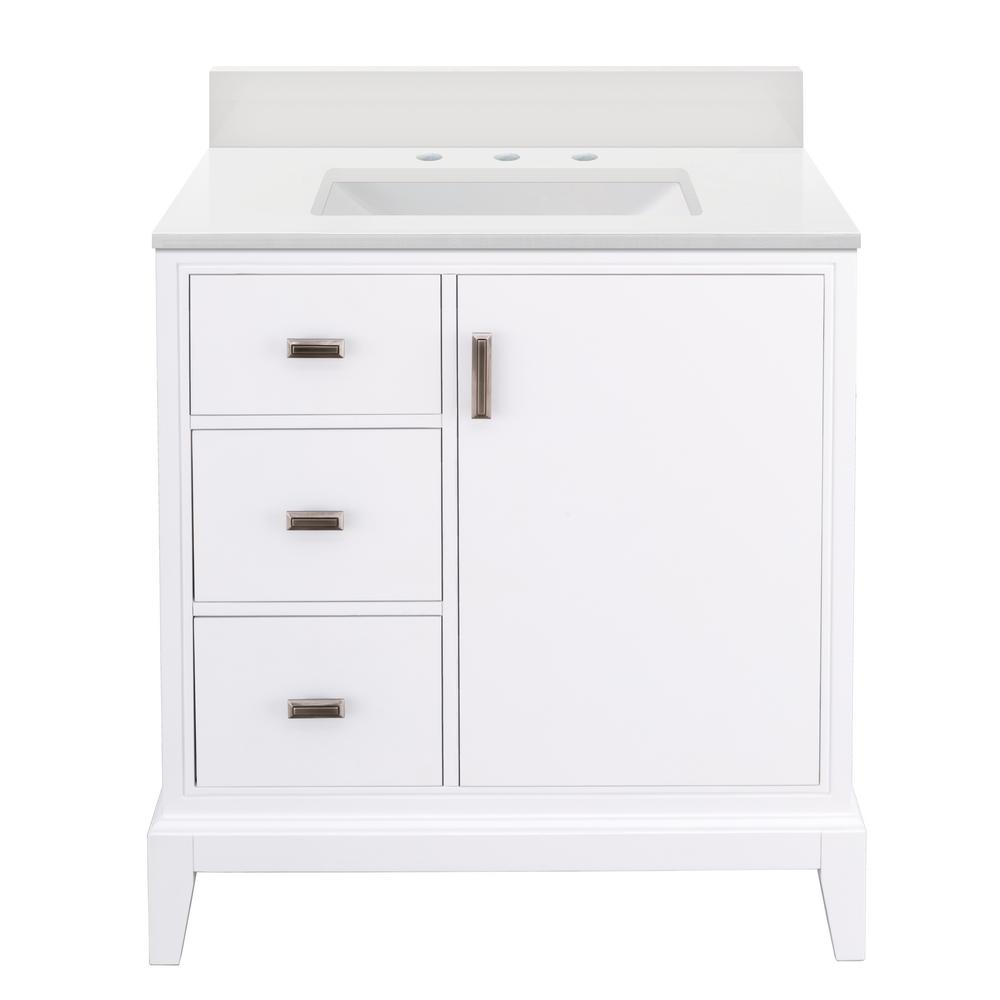 Home Decorators Collection Shaelyn 31 In W X 22 In D Bath Vanity