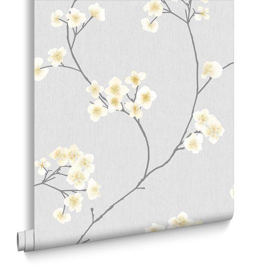 Best Radiance Grey And Ochre Wallpaper Grey Wallpaper Living 640 x 480