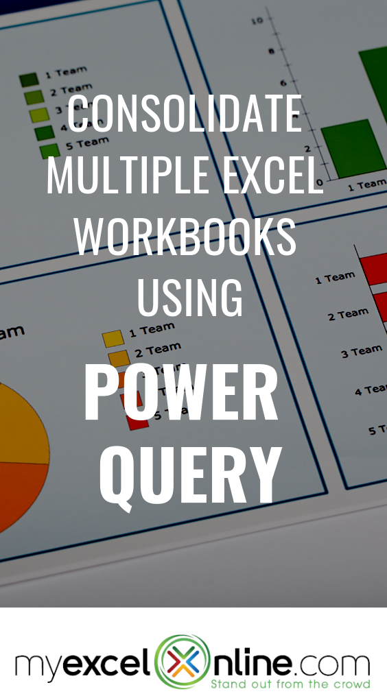 Consolidate Multiple Excel Workbooks Using Power Query