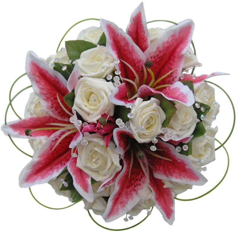stargazer lily wedding bouquets | Bouquet - Bridal ...