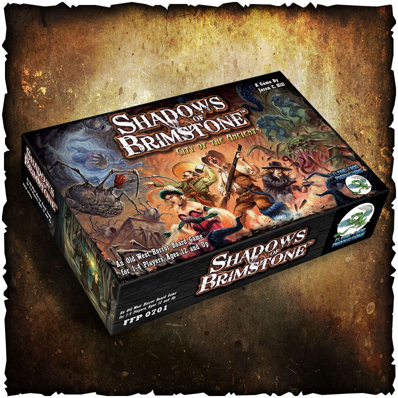 Shadows of Brimstone - City of the Ancients from Flying Frog!