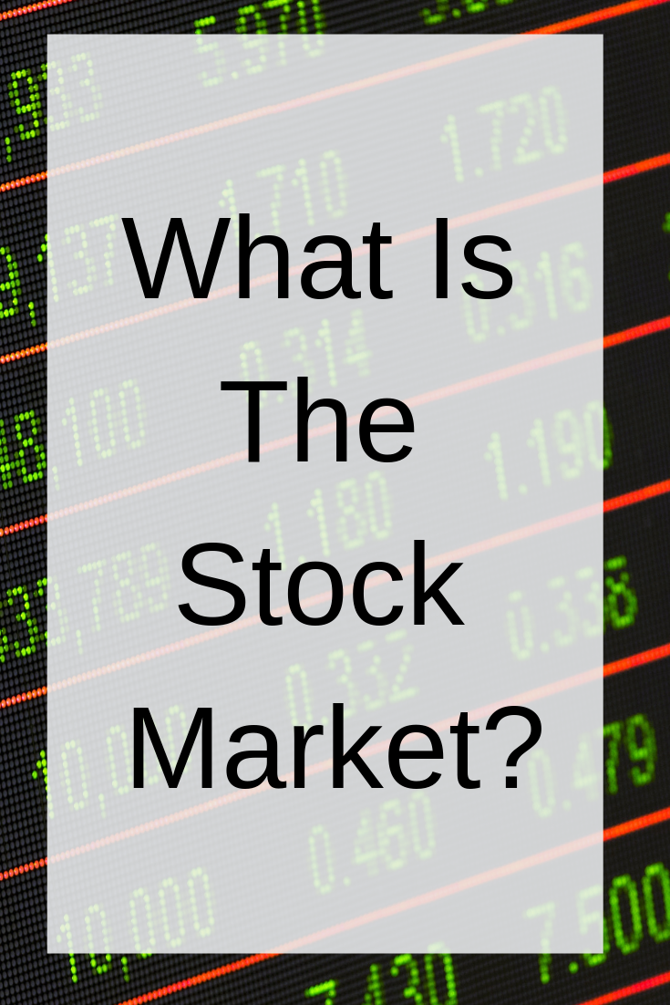 What Is The Stock Market Stock Market Stock Exchange Stock Market Investing