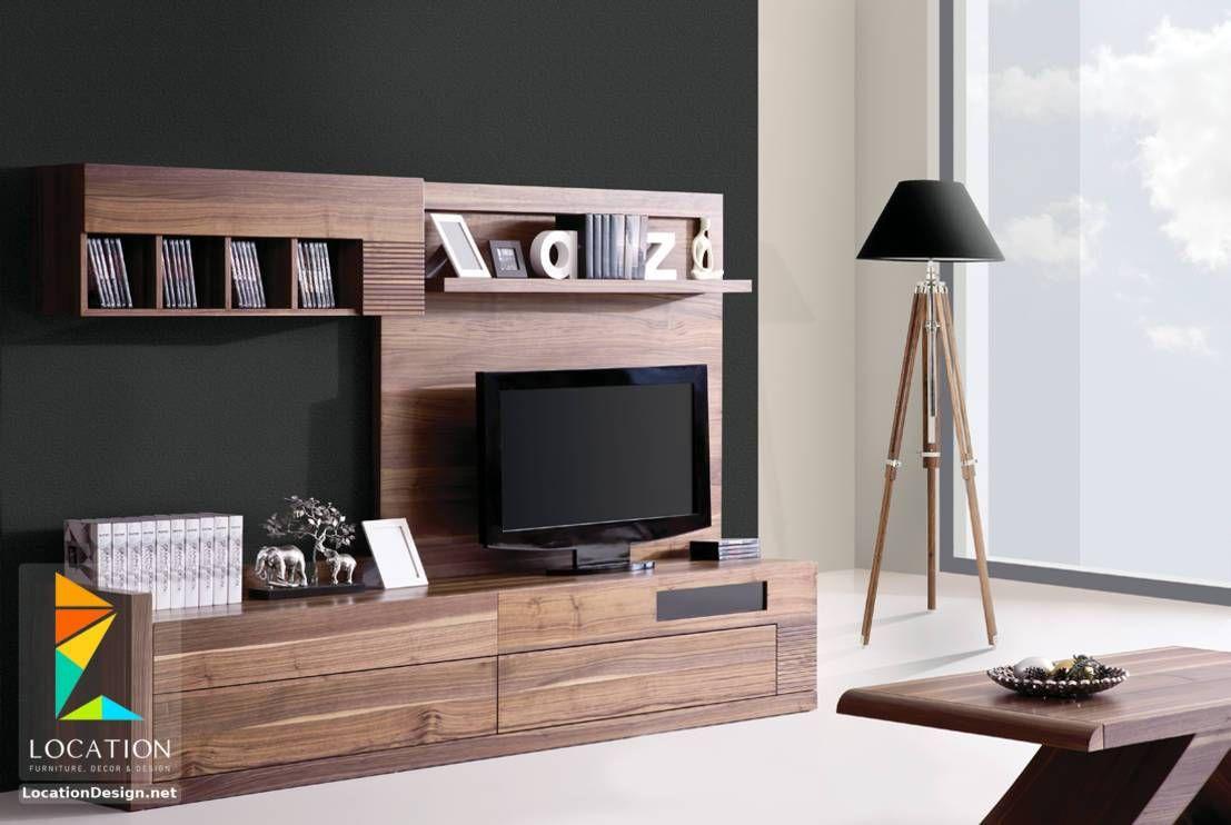 رفوف خشبية للتلفاز مكتبات شاشات Lcd مودرن Furniture Living Room Furniture Home Decor