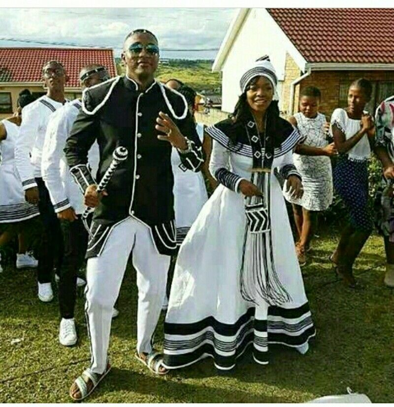 stunning xhosa wedding outfit