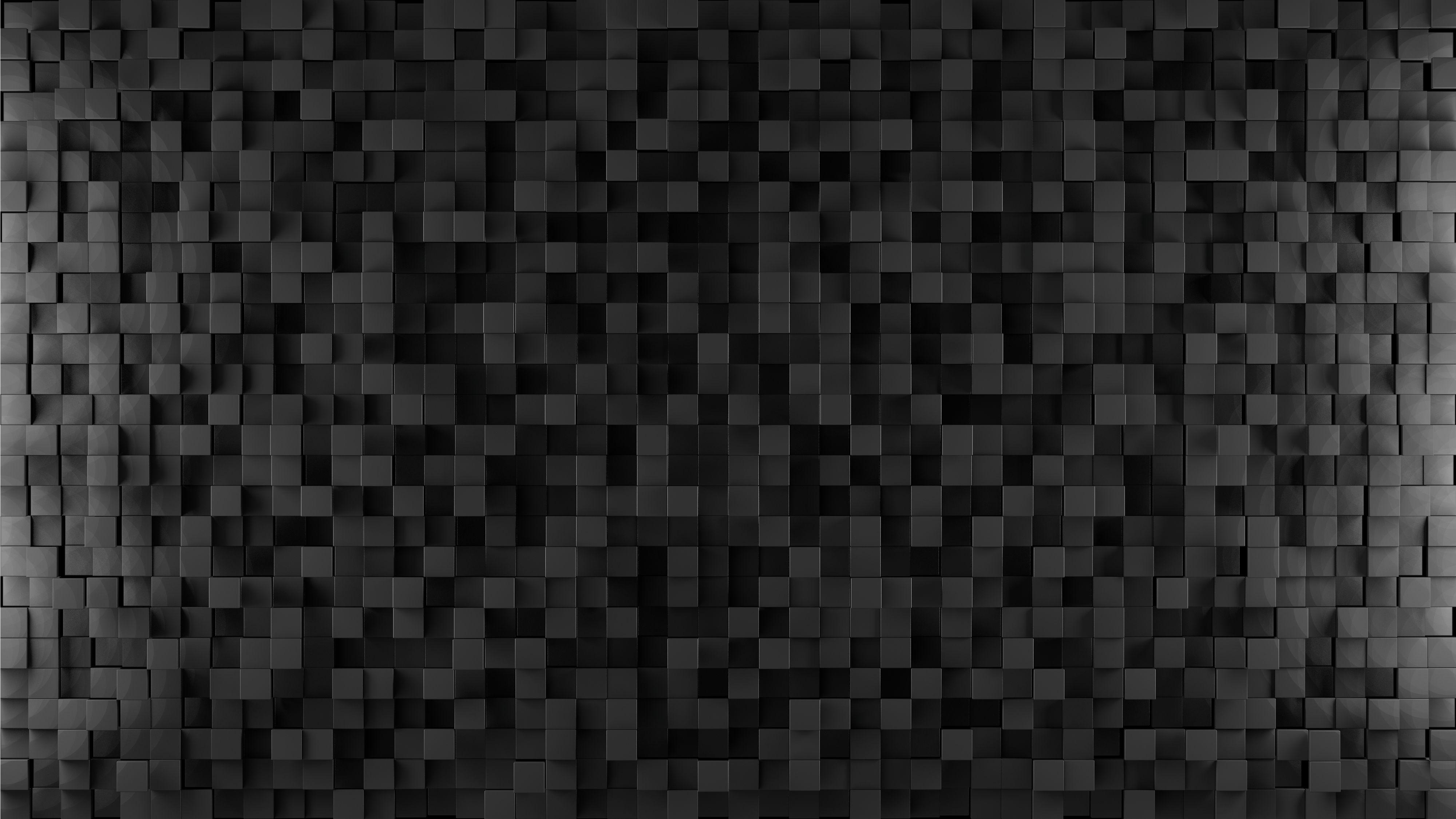 Matrix Dark Cubes Textured Background Matrix Dark