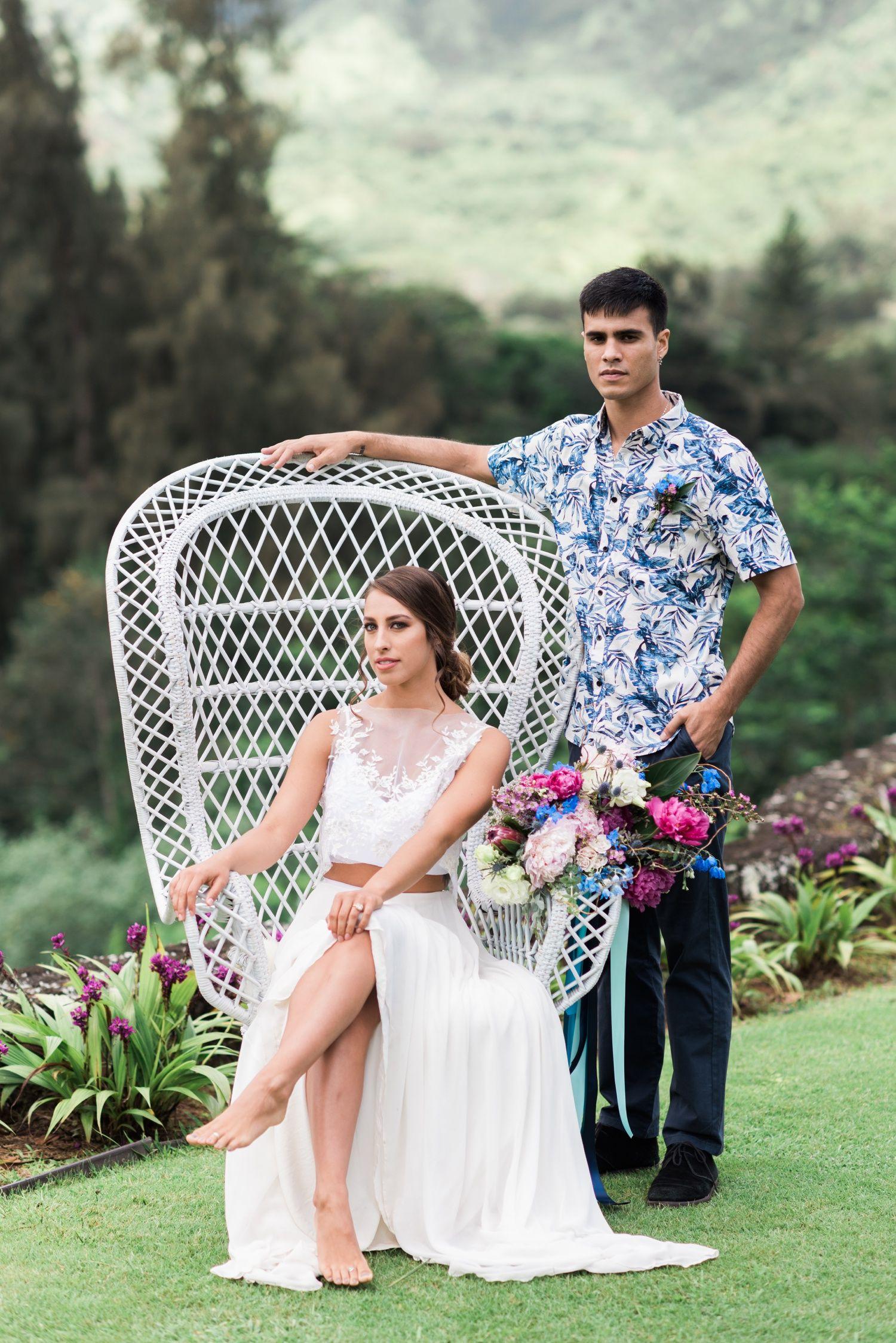 Royal hawaiian golf club wedding inspiration u oahu wedding