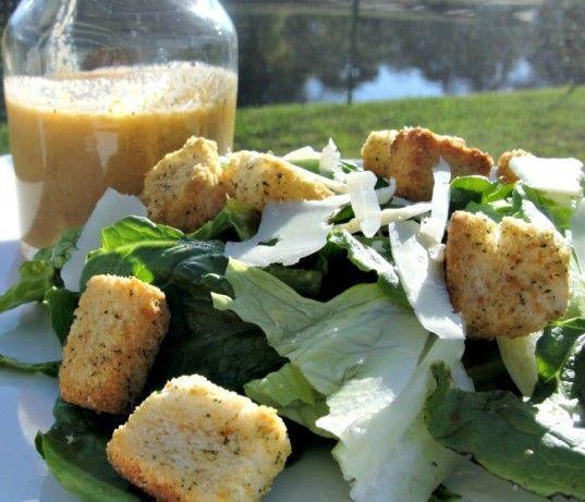 Houstons Spicy Caesar Dressing Recipe Food Com Ceasar Salad Recipe Recipes Caesar Salad Recipe
