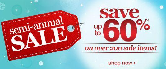 Semi-Annual Sale #LinksToSales