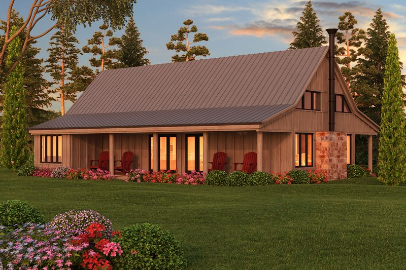 One story farm style home plans