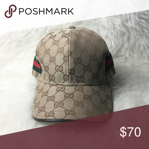 9f4104c6228 Gucci Hat BRAND NEW Gucci Hat in brown. Medium size. Gucci strap in ...