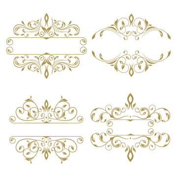 Collection Of Ornament Frame Vintage Gold Luxury Png And Vector With Transparent Background For Free Download Ornament Frame Floral Border Design Flower Frame
