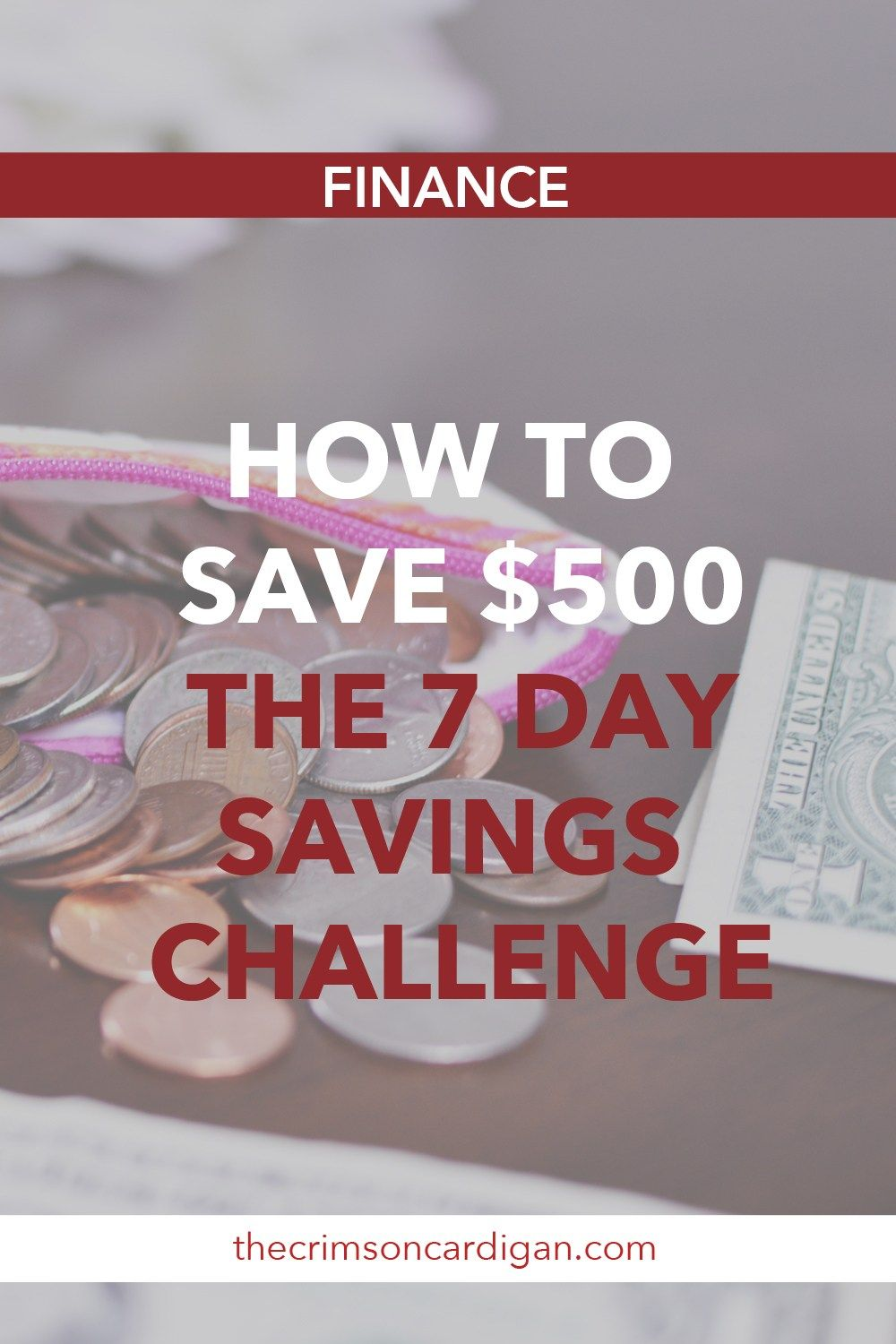 HOW TO SAVE $500 IN A WEEK | 7 DAY SAVINGS CHALLENGE