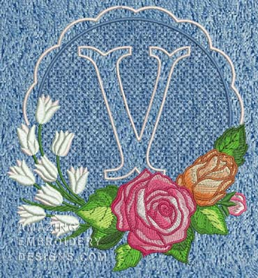 Amazing Embroidery Designs Embroidery Designs Embroidery Lettering Design