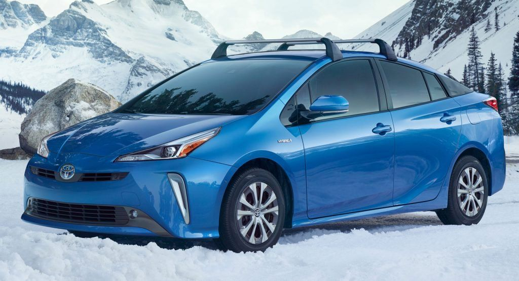 2019 Toyota Prius Facelift Gets Optional All Wheel Drive For The