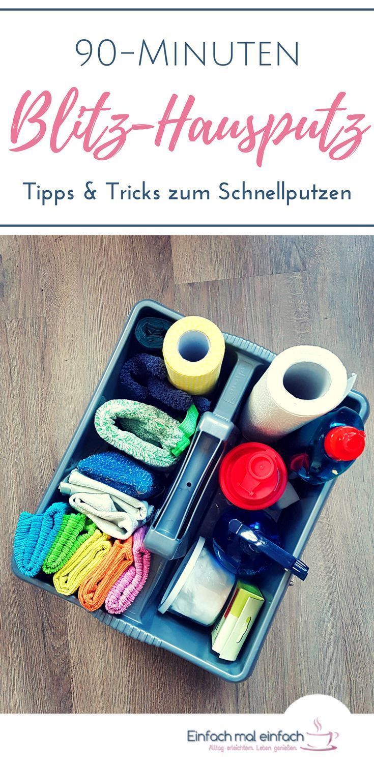 90 minuten blitz hausputz putzplan sauberkeit und tipps und tricks. Black Bedroom Furniture Sets. Home Design Ideas
