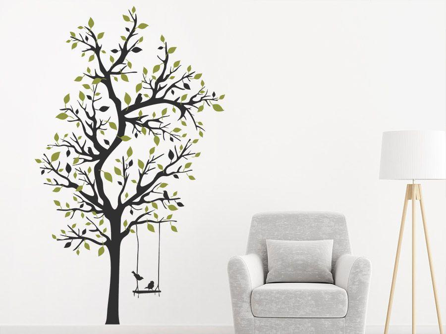 Attraktives Wohndesign Für Die Wände: Wandtattoo Verzweigter Baum Von  WANDTATTOO.DE