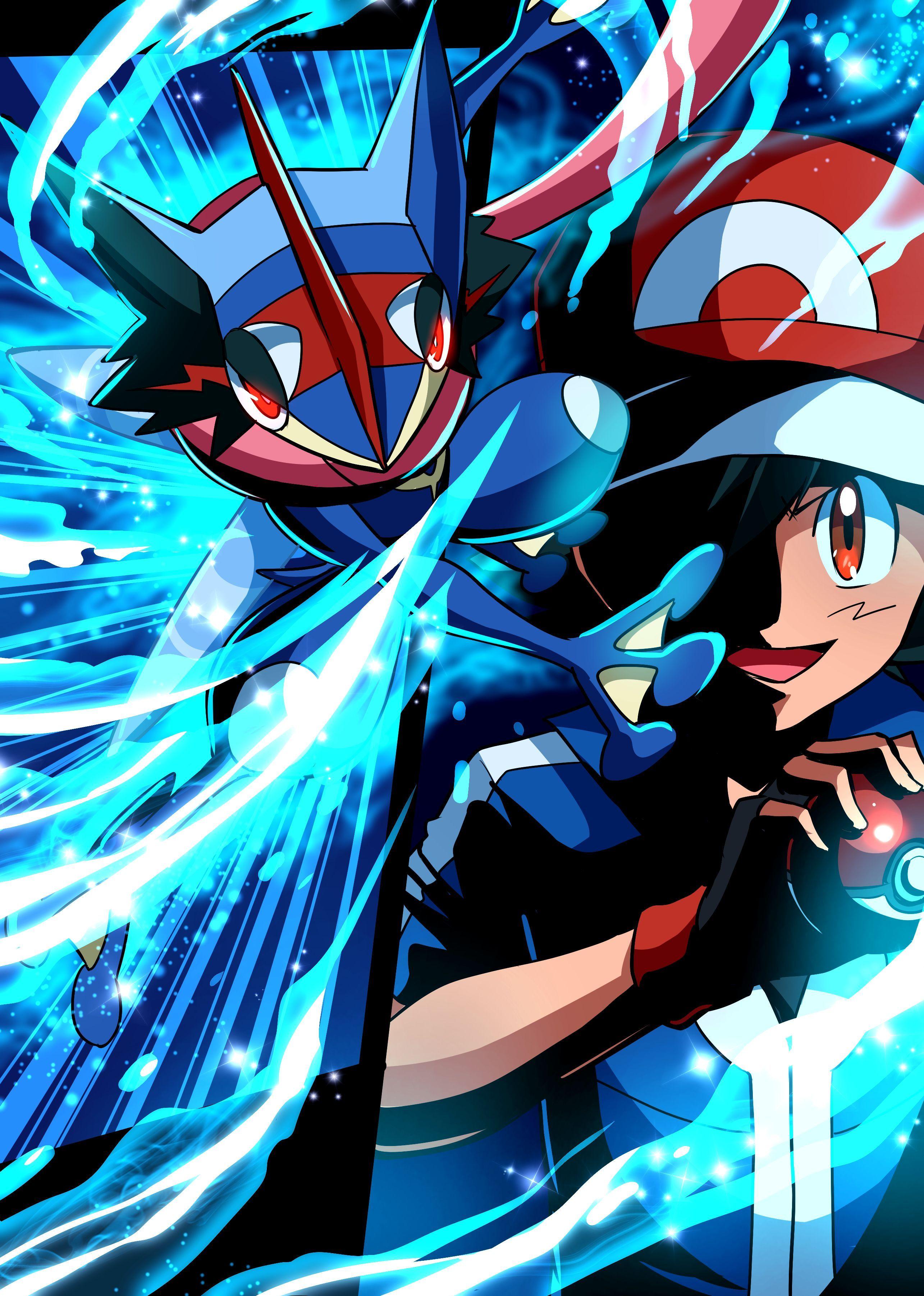 2570x3603 Greninja Wallpaper Background Desktop Wallpaper Box Pokemon Cool Pokemon Cute Pokemon Wallpaper