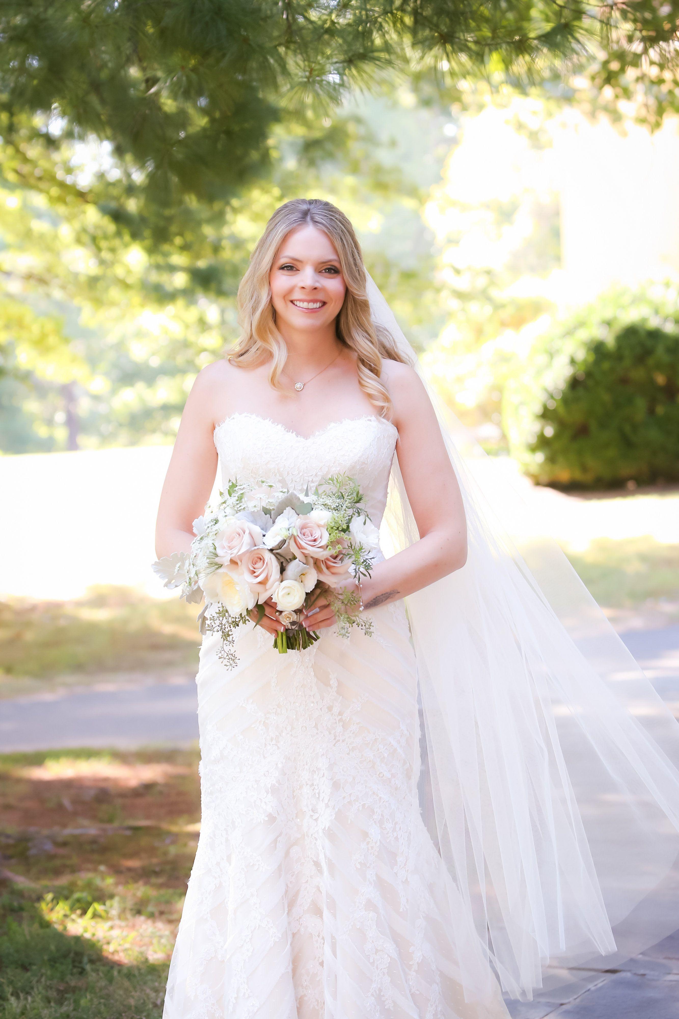 Bridal portrait late summer wedding photo credit kristine pringle