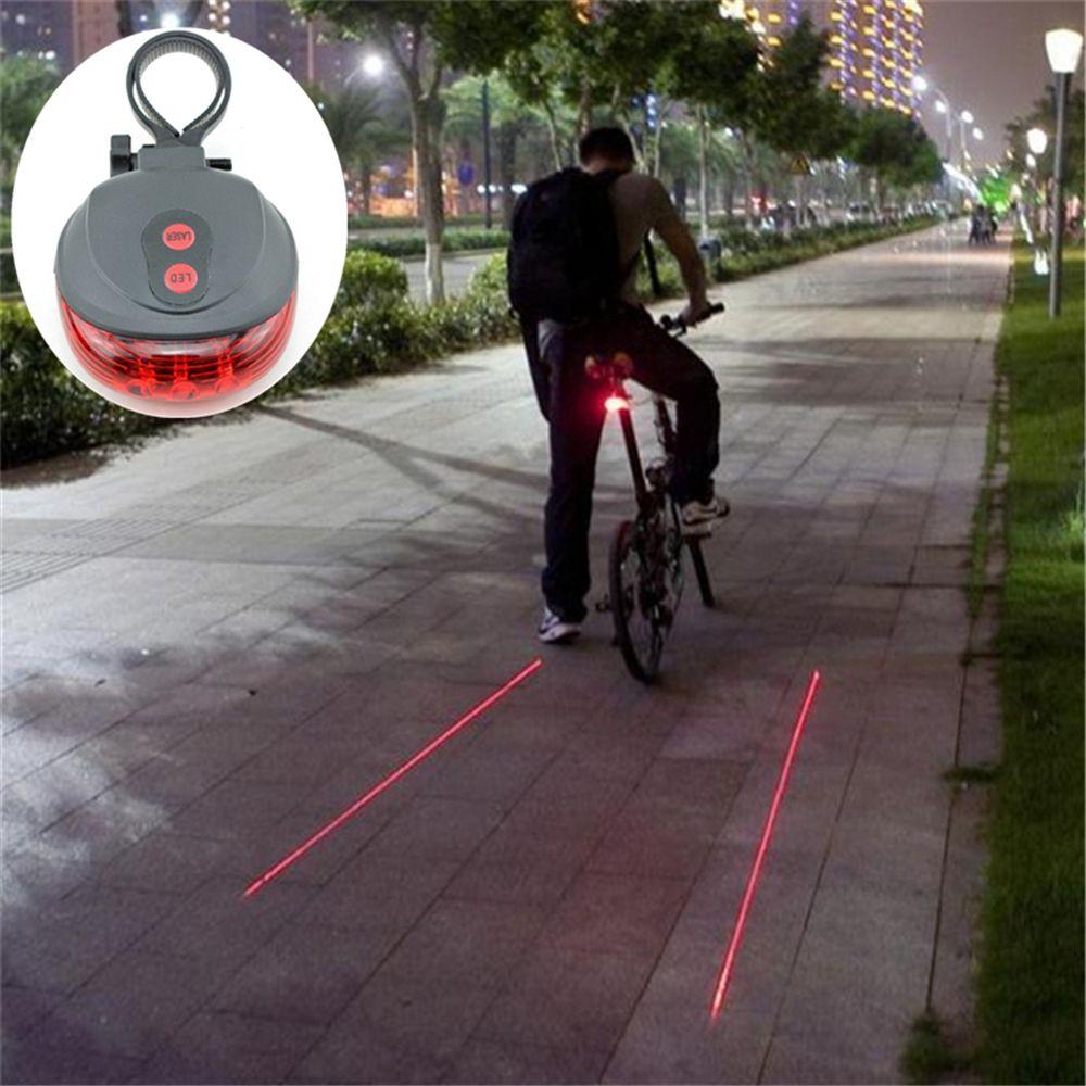 자전거 빛 자전거 후면 빛 2 레이저 밤 자전거 안장 안전 MTB 도로 후면 조명 램프 백라이트 7 모드