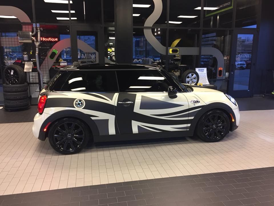 2016 Mini Cooper S Union Jack Flag Ceramic Tint Mini Coopers