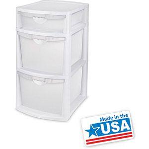 Walmart Sterilite 3 Bin Storage System Storage Bins Storage System Storage