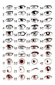 dessiner les yeux manga 3 le blog de popo2711