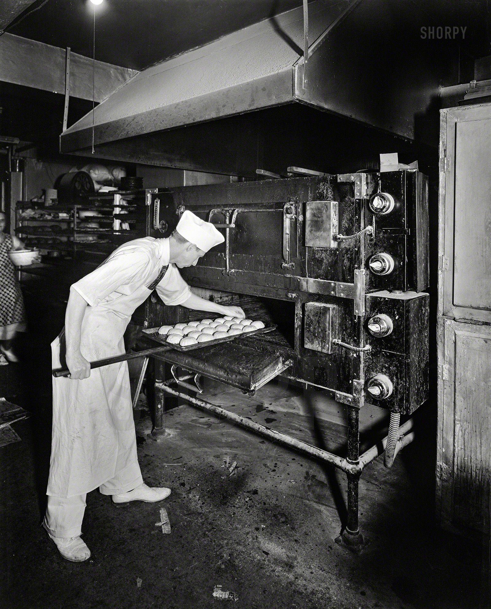 "Commercial Kitchen Lighting: Washington, D.C., Circa 1950. ""Potomac Electric Power Co"