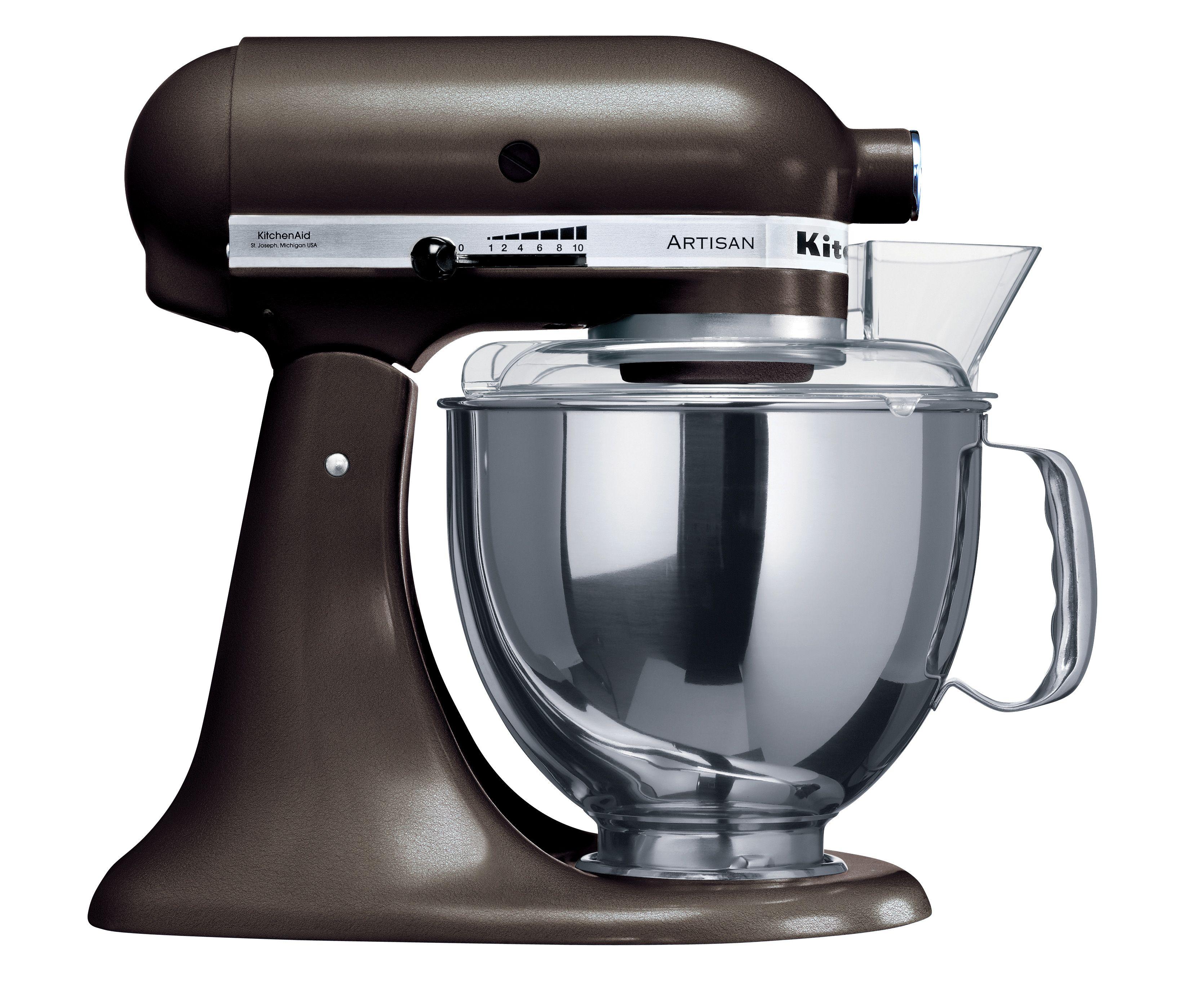 Kitchenaid artisan stand mixer in truffle ksm160