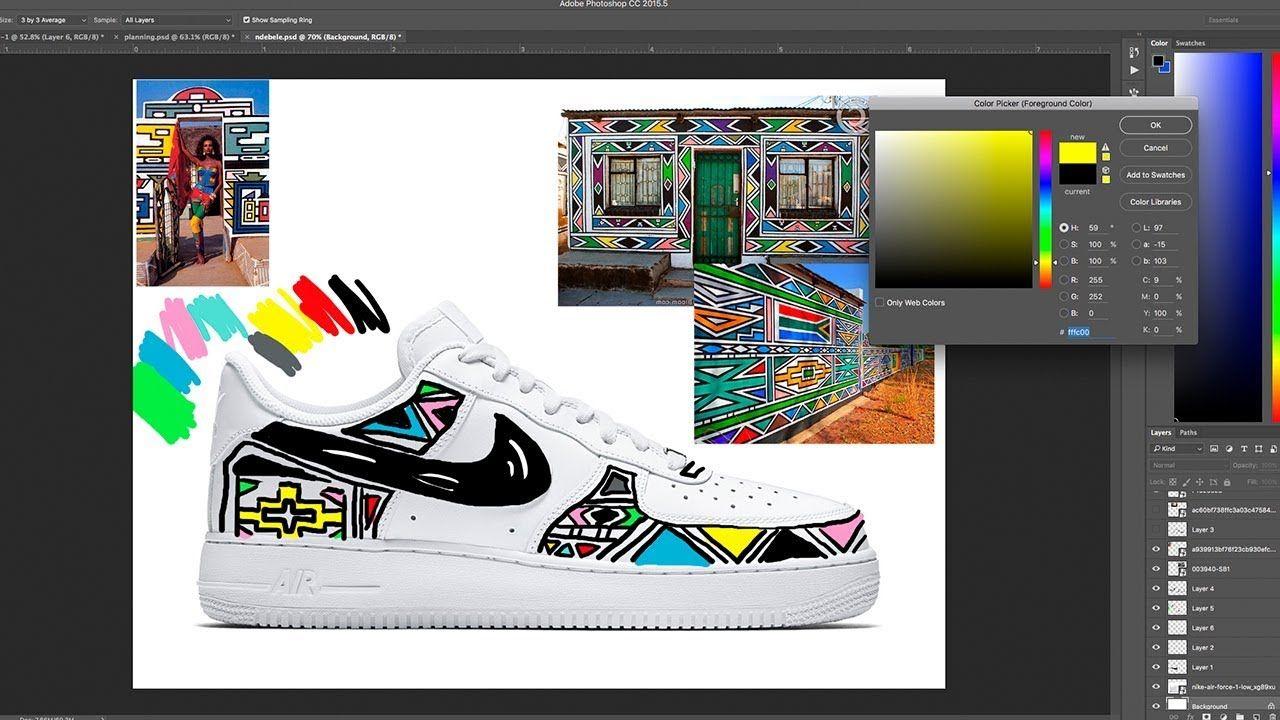 How To Plan Your Custom Shoes Angelus Direct Mock Up Photoshop 2018 Youtube Custom Shoes Photoshop Custom