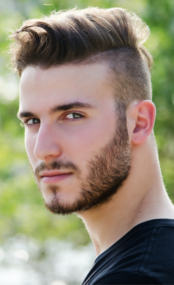 Fashionable mens haircuts mens fade hairstyle with pompadour read more to discover our list