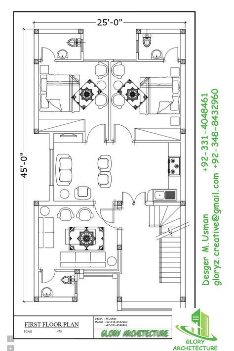 House elevation front  view plan hose architectural also rh pinterest