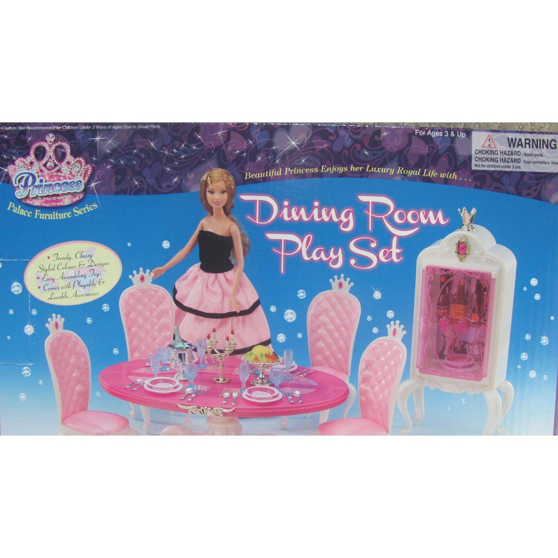 Fabulous Amazon Com Barbie Size Dollhouse Furniture Blue Sea Download Free Architecture Designs Itiscsunscenecom