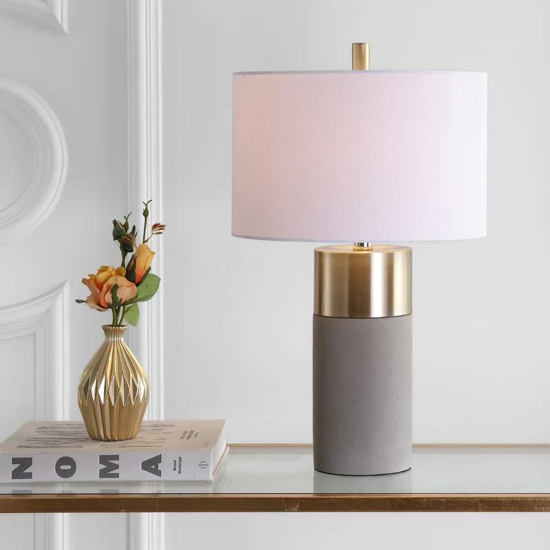 Fegan 22 Gray Gold Table Lamp Set Gold Table Lamp Table Lamp Sets Grey Table Lamps