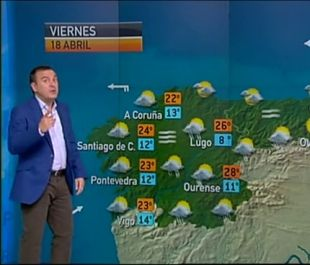El Tiempo En Antena 3 Tv Pronóstico Metereólogico Con Roberto Brasero Noticias Ciudades España Fotos Qué Tiempo Hace A Coruña Tiempos