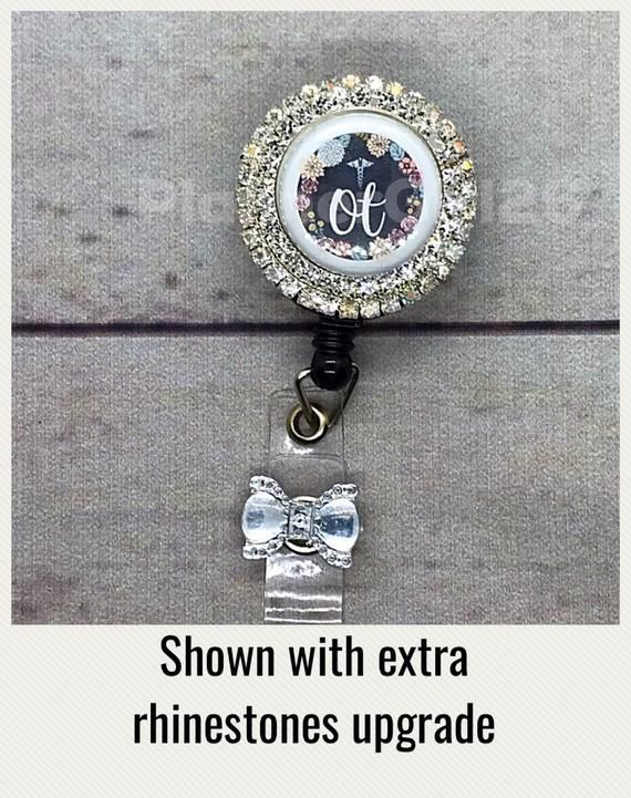 ~ Retractable Reel ID Badge Holder DRY HUMOR If only closed minds came with..