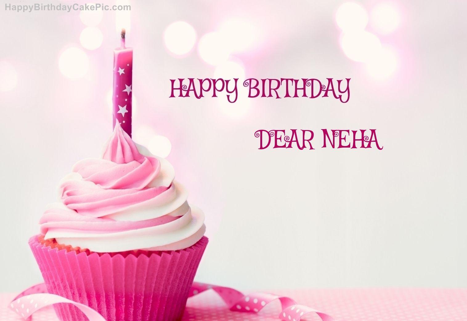 Happy Bday Neha Cake Happy Birthday Names Pinterest Birthday