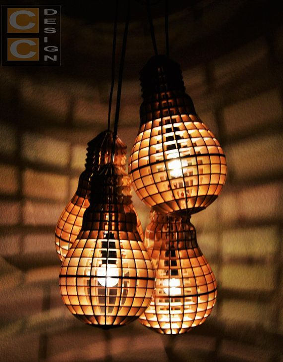 This Vintage Style Wooden Light Bulb Is Laser Cut And