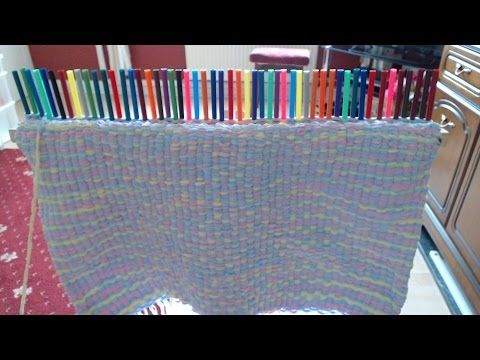 Weaving Sticks 35 For 99p These Work Brilliant Look At My Baby Blanket Peg Loomloom