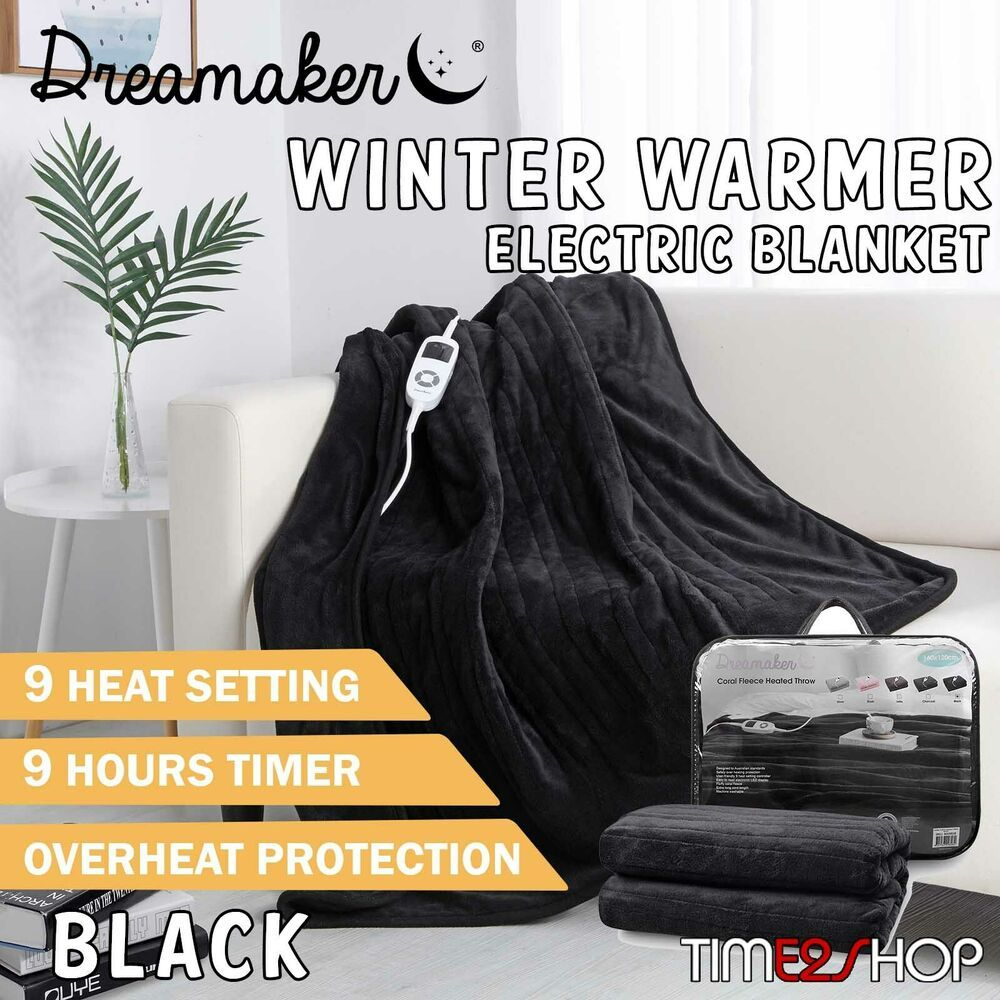 Dreamaker Heated Electric Throw Rug